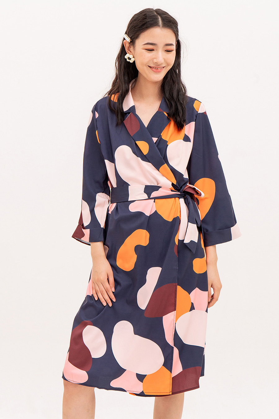SULLANA DRESS - MIDNIGHT SUN
