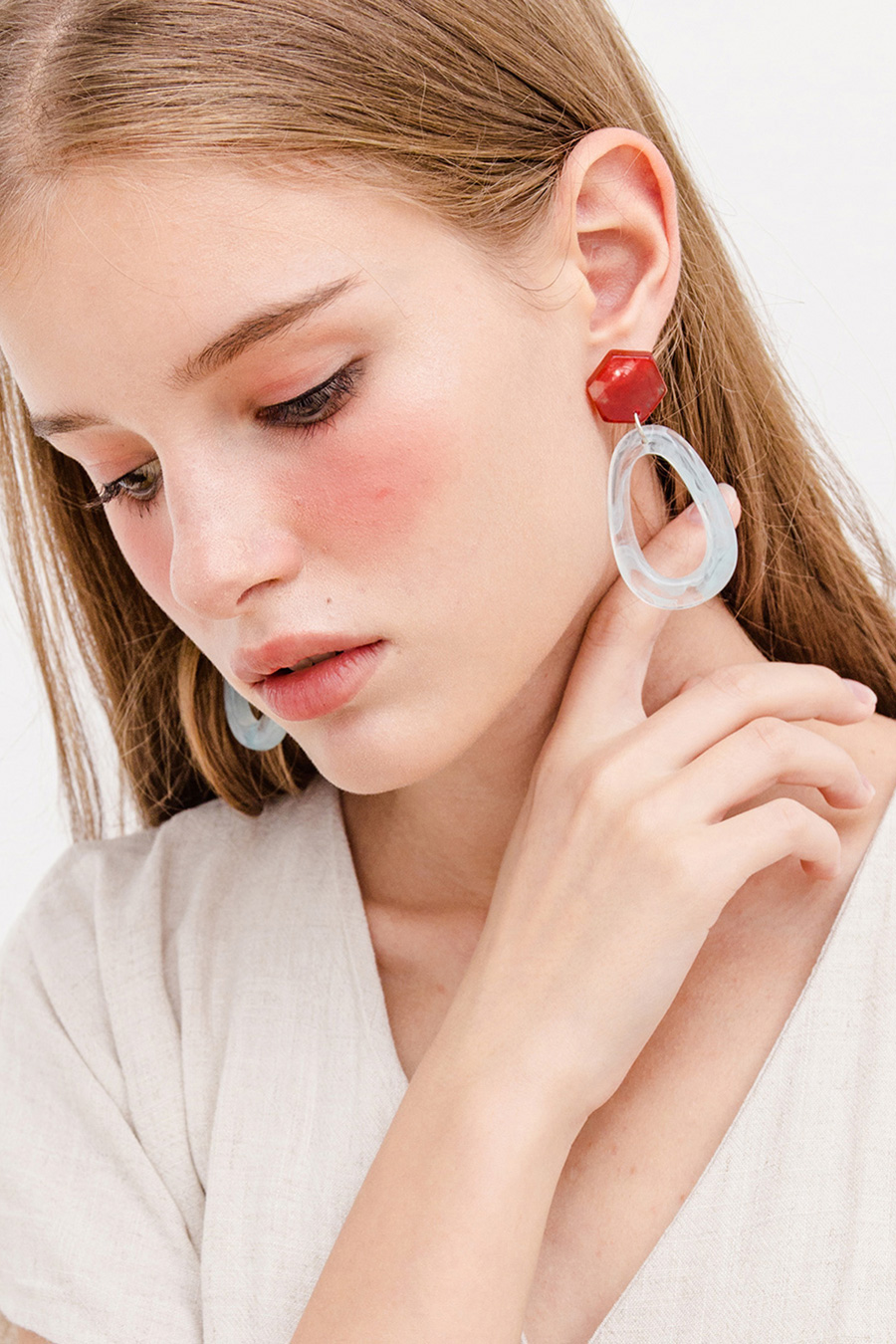 SULLY EARRING - SCARLET MINT