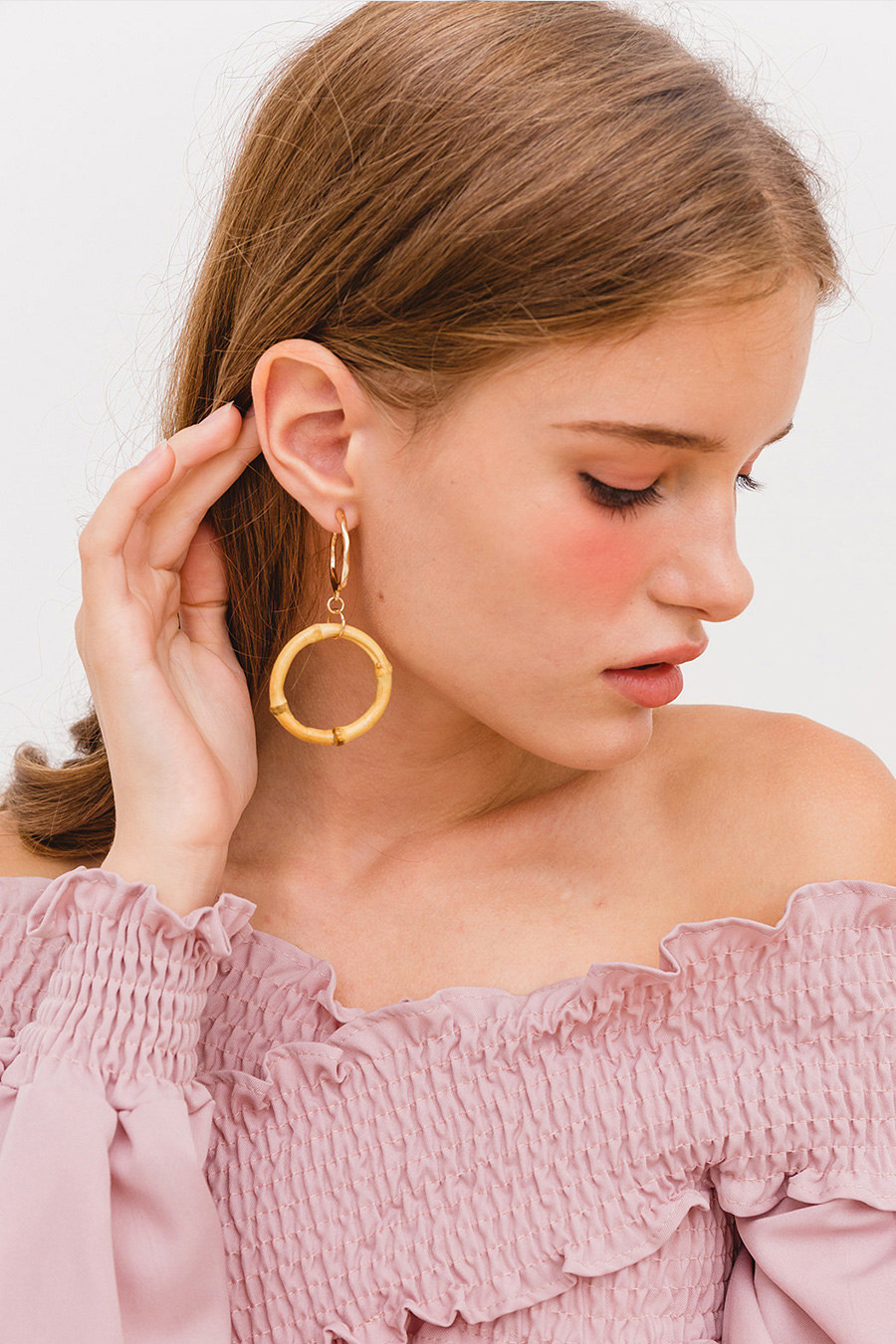 SULLY EARRING - BAMBOO