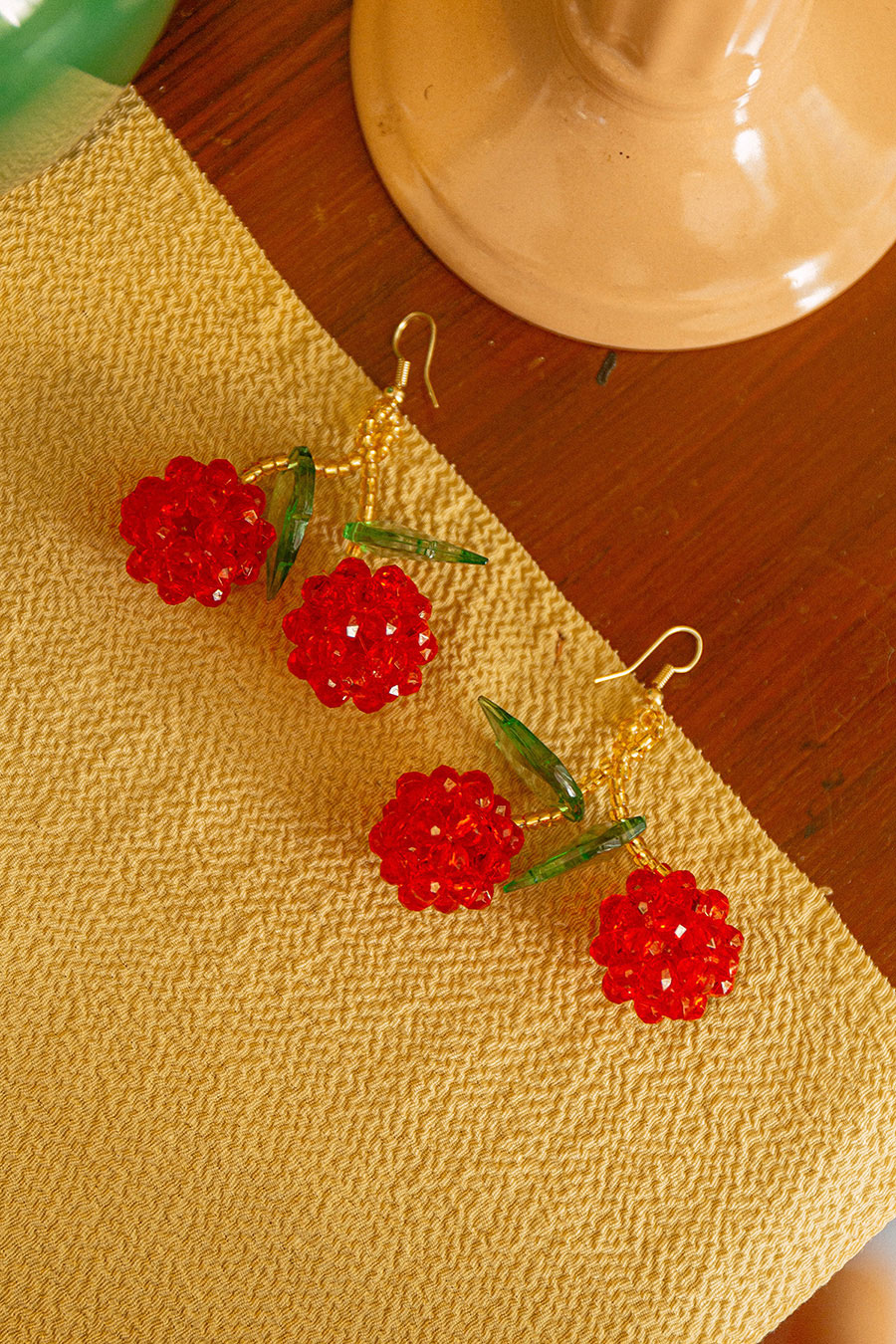 *RESTOCKED* SUMI EARRING - CHERRIES