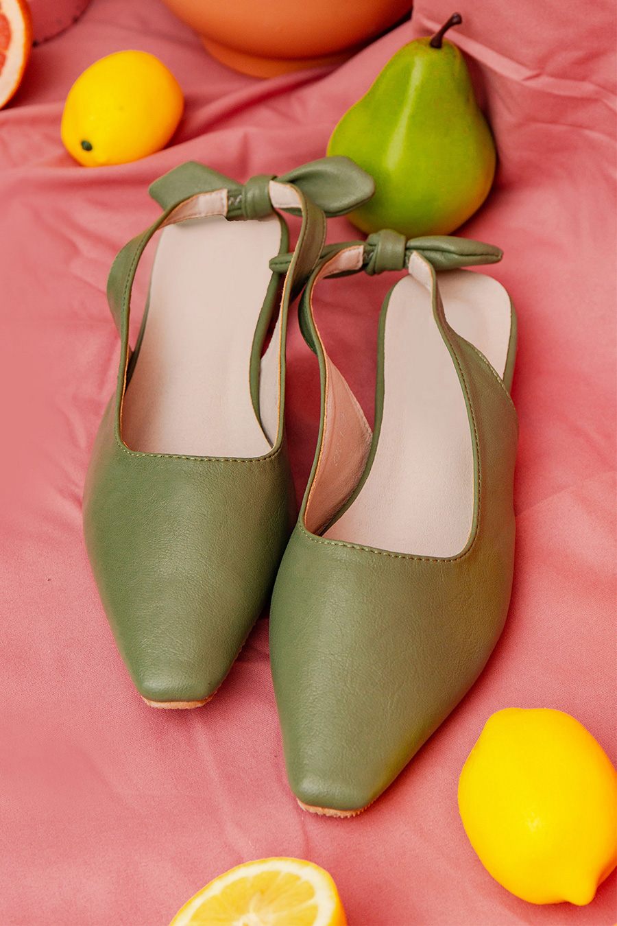 SYBILLE SHOES - SAGE