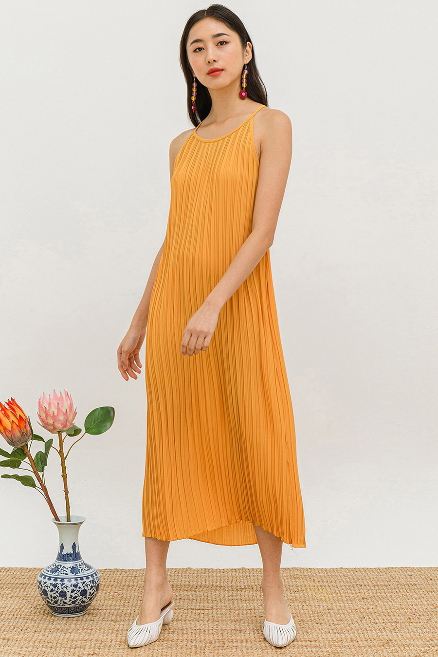 *BO* TAMAI DRESS - MARIGOLD