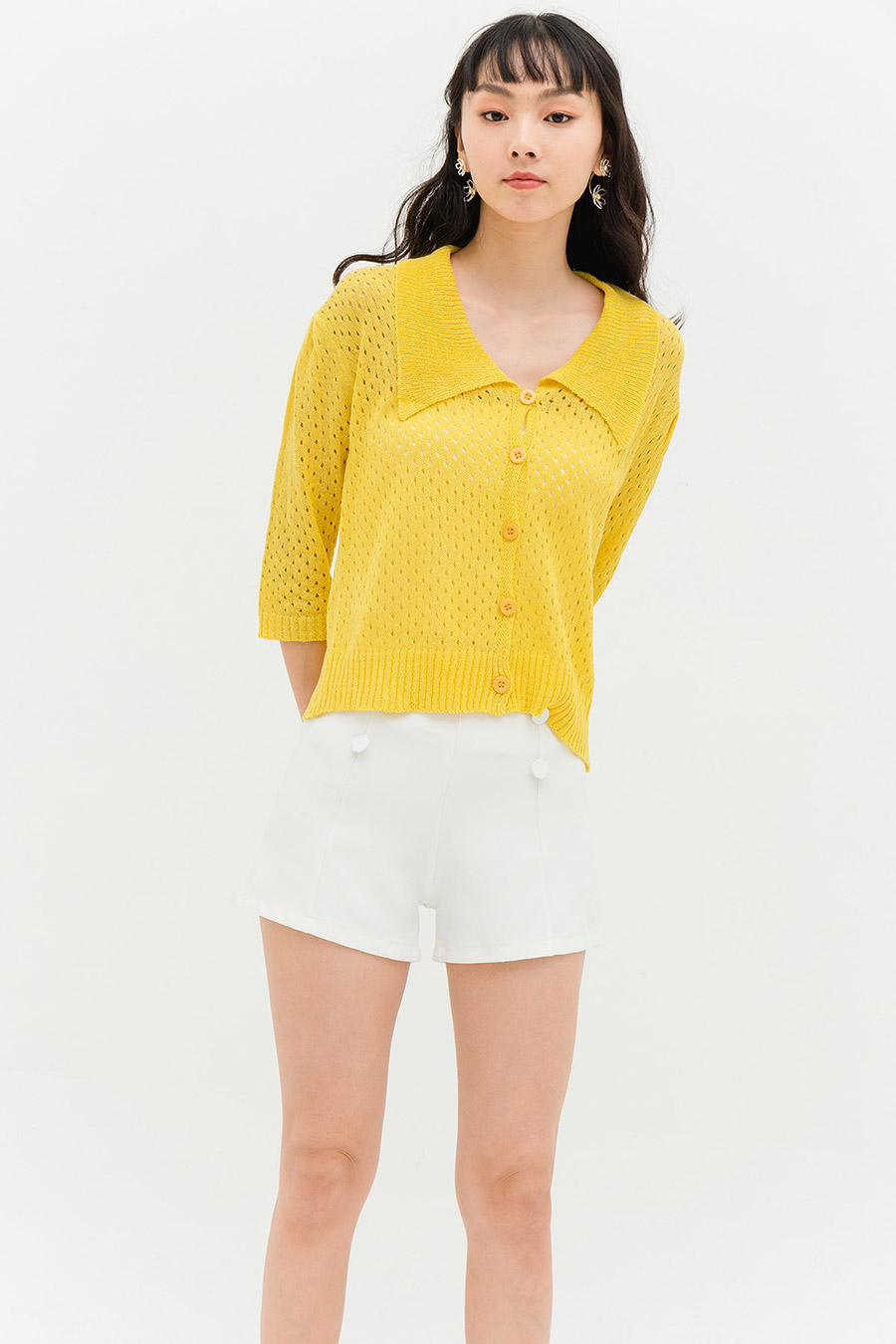 *SALE* TAMBO TOP - BUTTER