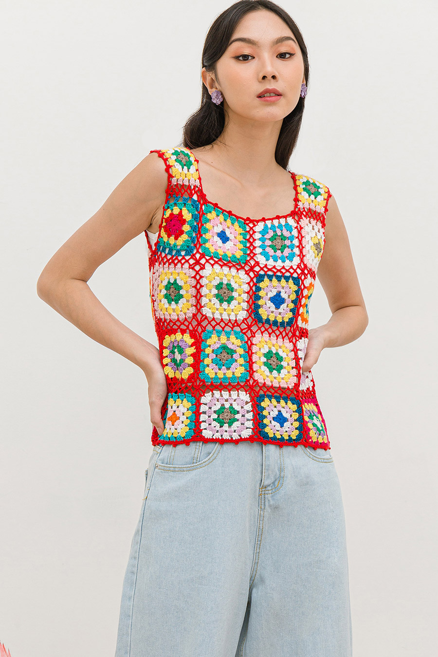 TAZU TOP - PATCHWORK