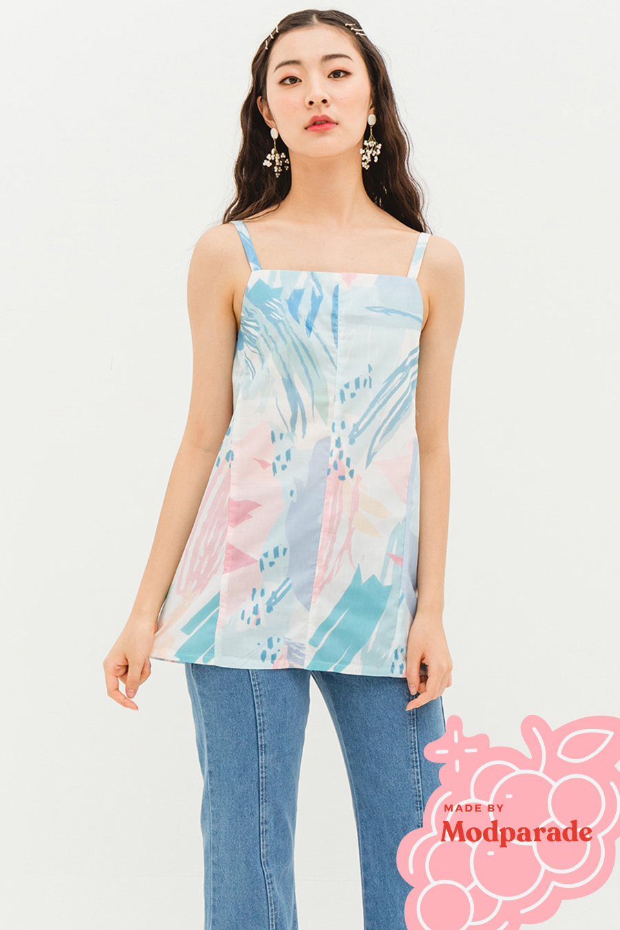 *SALE* THALIA TOP - PASTEL MELODY [BY MODPARADE]