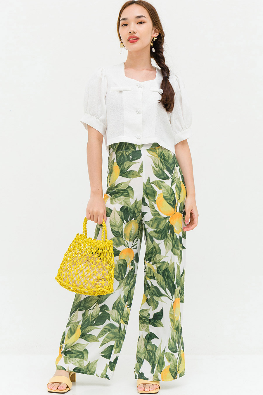 THERESIA PANTS - LEMONS