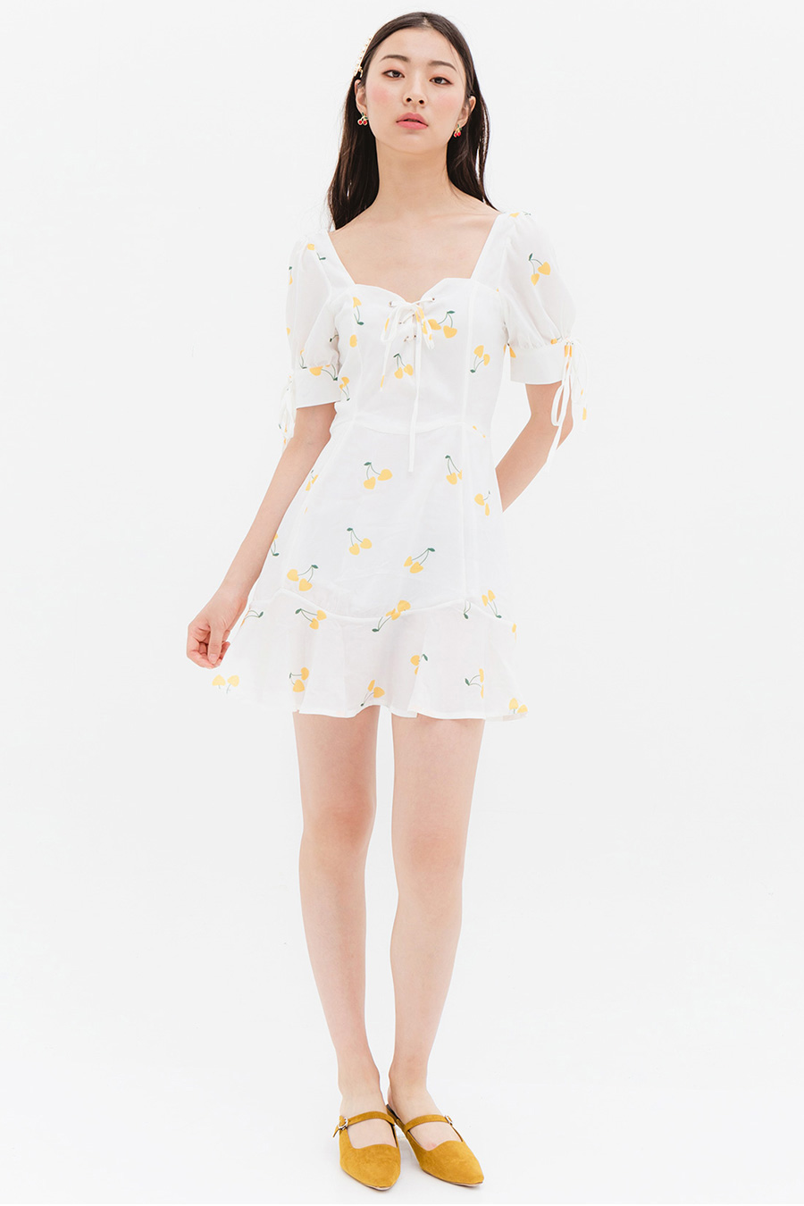 *BO* TRINE DRESS - GOLDEN CHERRY
