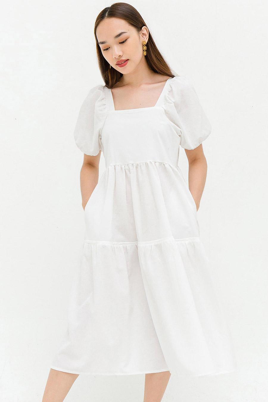 TYLER DRESS - IVORY