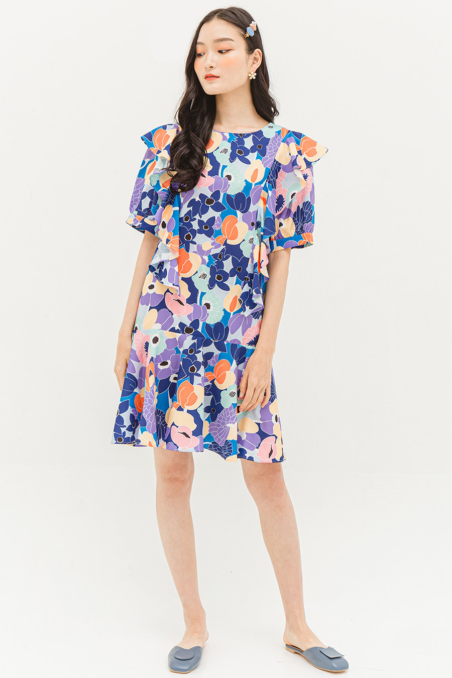 *RESTOCKED* VALERIE DRESS - HYACINTH
