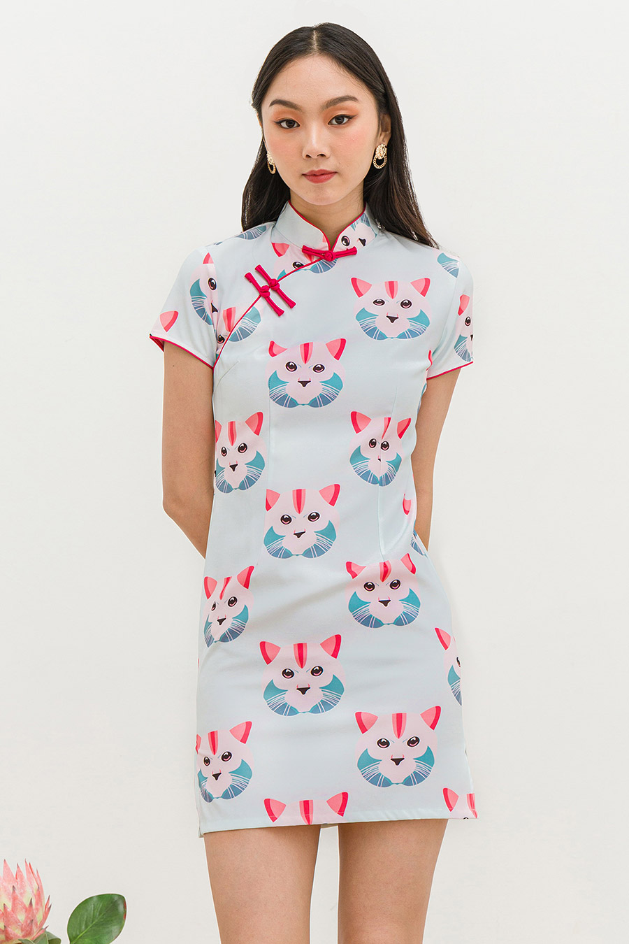 *SALE* WAKI CHEONGSAM - KITTIE