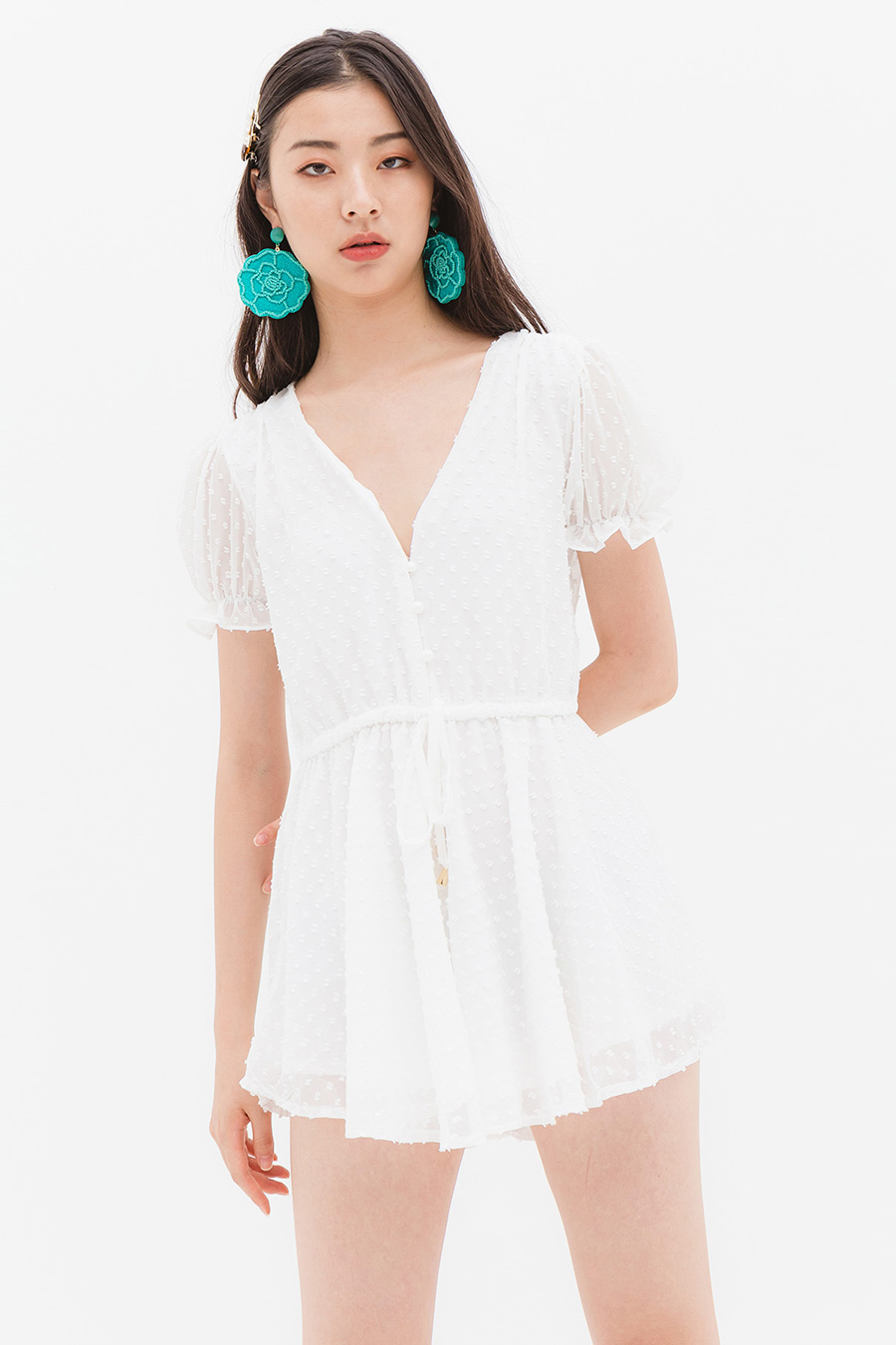 *RESTOCKED* WALKMAN PLAYSUIT - SALT LAKE