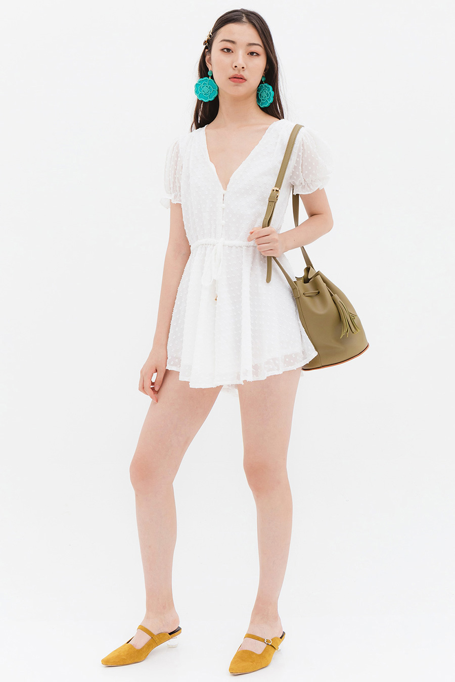 *BO* WALKMAN PLAYSUIT - SALT LAKE