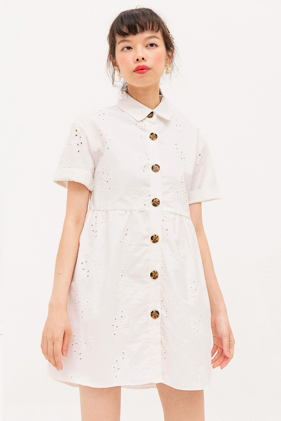 *RESTOCKED* WALLERIAN DRESS - IVORY