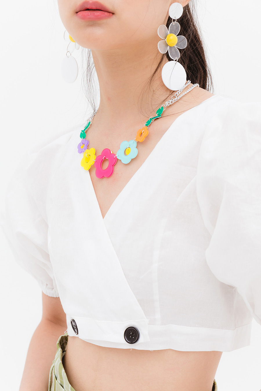 *BO* WHIMSY NECKLACE - GARLAND
