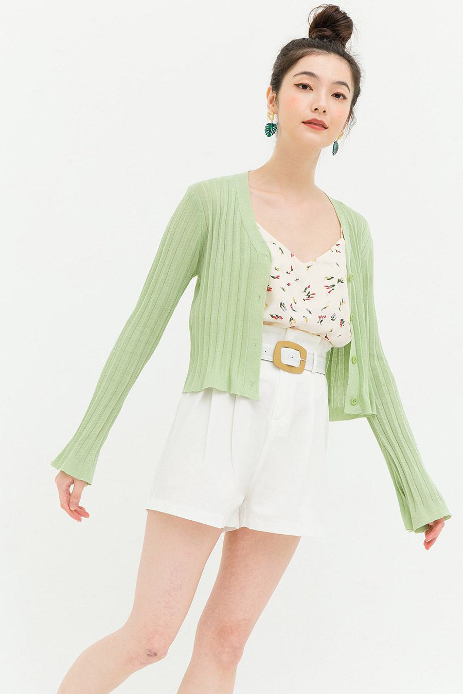 WILLIS CARDIGAN - SAGE
