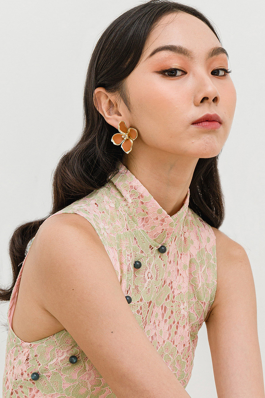 *RESTOCKED* YOON EARRING - COPPER