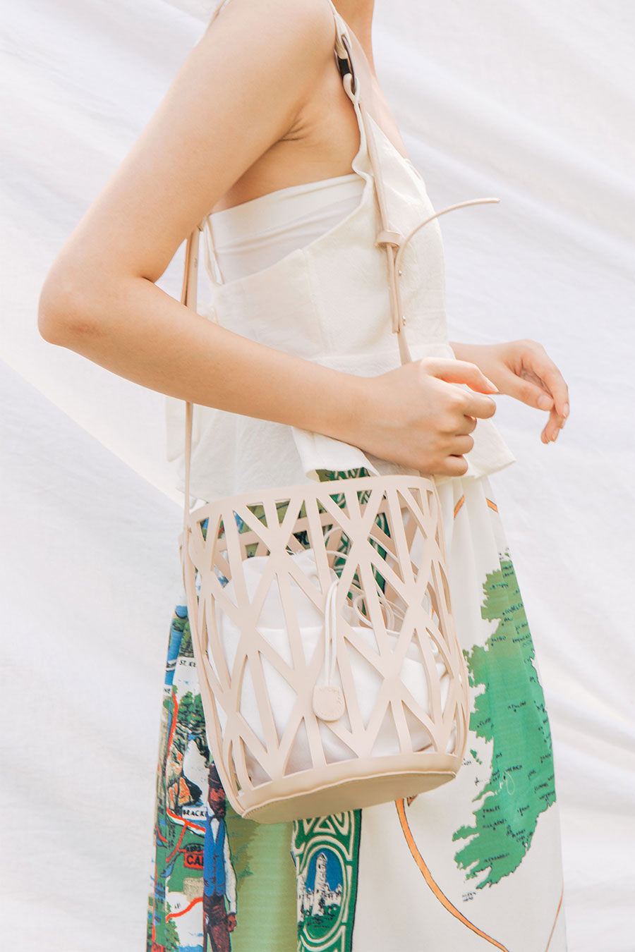 YSEULT BAG - LATTE
