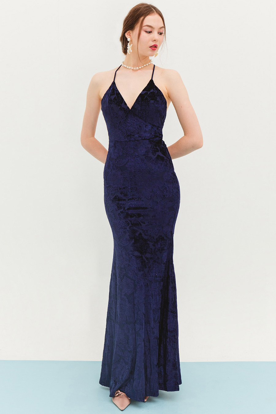 YSSABELLA DRESS - MIDNIGHT