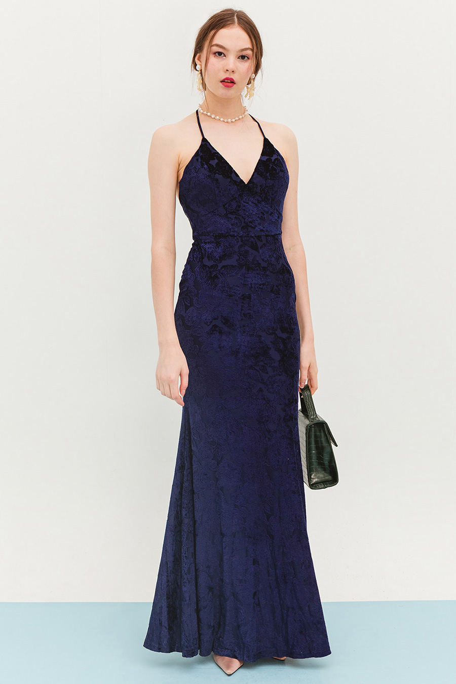 YSSABELLA DRESS - MIDNIGHT