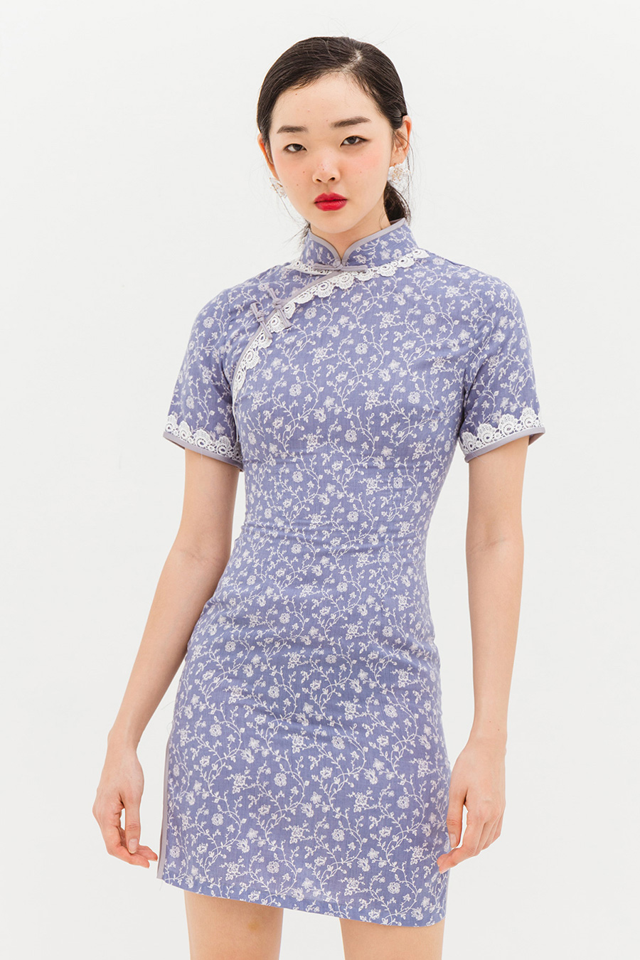 *RESTOCKED* YUE DRESS - LAKE BLUE